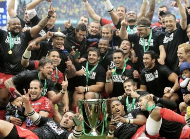 Heineken Cup champs Toulon are keen to take on the Chiefs.