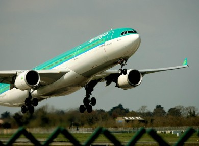 Aer Lingus flight