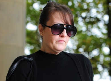 Amanda Hutton who has been found guilty of the manslaughter of her son Hamzah.