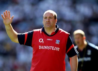 Cork boss Brian Cuthbert.