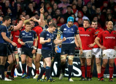 Munster haven't beaten Leinster in their last four attempts.