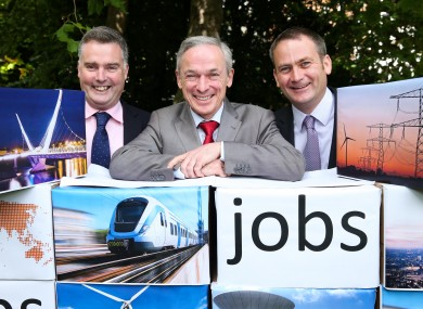 Richard Bruton welcomes the jobs at Byrne Looby