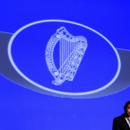 Minister Alan Shatter speaks during the ceremony.<span class=