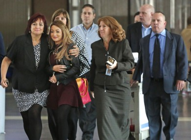 Family members of Natasha McShane in court last week