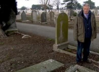 Derk Leinster at Mount Jerome Cemetery