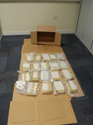 Cocaine discovered following raids.