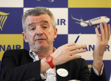 Michael O'Leary would be thrilled to receive your suggestions personally