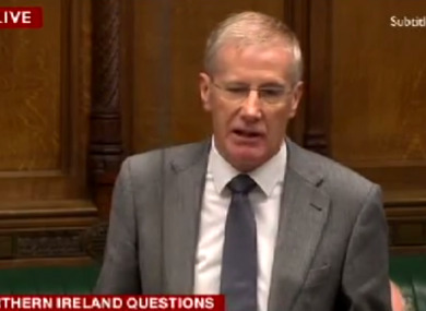 Democratic Unionist Party MP Gregory Campbell