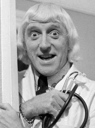 DJ Jimmy Savile in 1972.