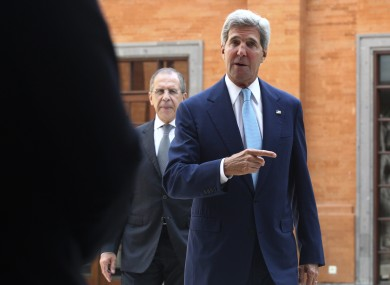 US Secretary of State John Kerry in Indonesia yesterday