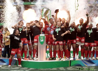 Will there be anyone celebrating the Heineken Cup next season?