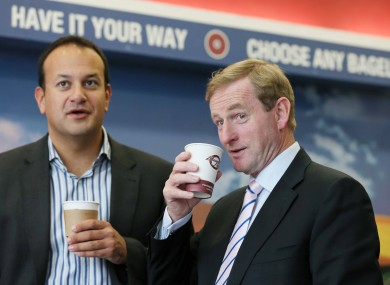 The man on the right definitely isn't representing the government in the Seanad referendum debate tonight