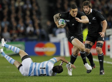 SBW: sticking with rugby league next year.