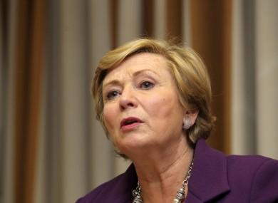 Minister for Children Frances Fitzgerald.
