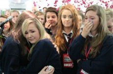 Pupils perform tearful musical tribute to late teacher