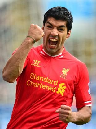 Liverpool's Luis Suarez - one of the Premier League's most dangerous strikers.