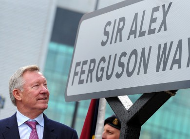 Alex Ferguson says he's happy to have retired.