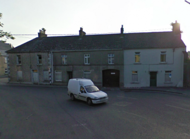 The three houses on Vicar Street in Kilkenny.