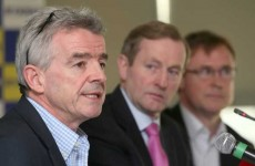 VIDEO: Does Michael O'Leary think O'Neill and Keane will be good for tourism?