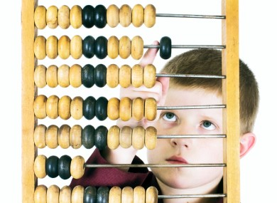 Abacus not required.