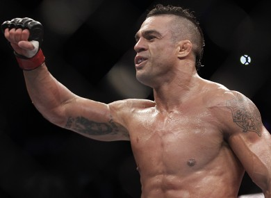 Vitor Belfort will hope for a win this weekend.