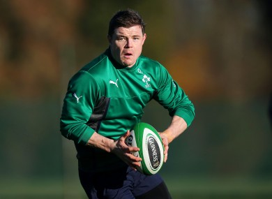 Ireland fans will beathe easier now that Sexton, O'Driscoll (pictured) and Kearney have been named to start.