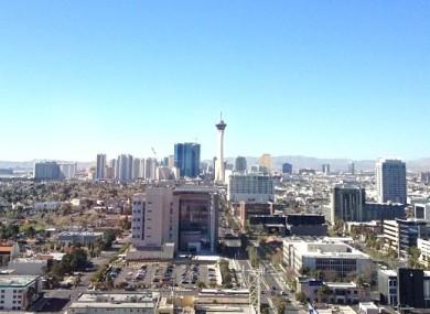 Down town Las Vegas (File photo)