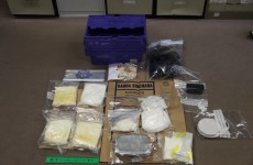 Cocaine worth €385,000 and parts of 8 stolen vehicles seized