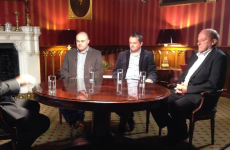 What did Daly, Davy and Loughnane talk about today?
