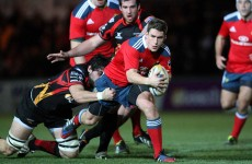 Keatley kicks Munster to victory against the Dragons