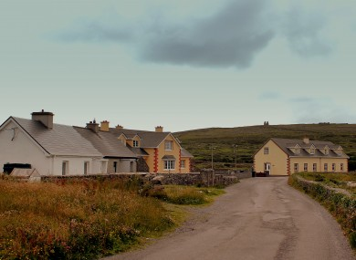 File photo of Inis Mór (not of scene).