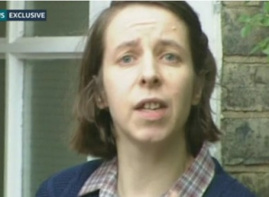 ITV News claims this is 'Josephine' in 1997. She is now 57 years old.