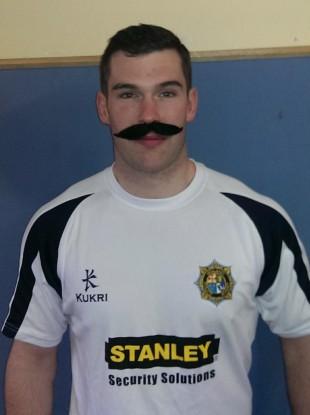 Irish Police player John Dever.