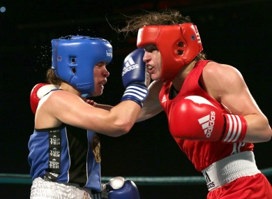 Taylor: Ireland's lady in red won by unanimous decision against Caroline Veyre.