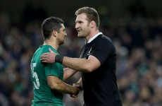 Kieran Read reflects on 'proud moment' after beating Ireland