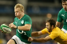 Luke Marshall released from Ireland camp to play for Ulster in Pro12