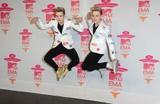 12 of the best moments from last night's EMAs