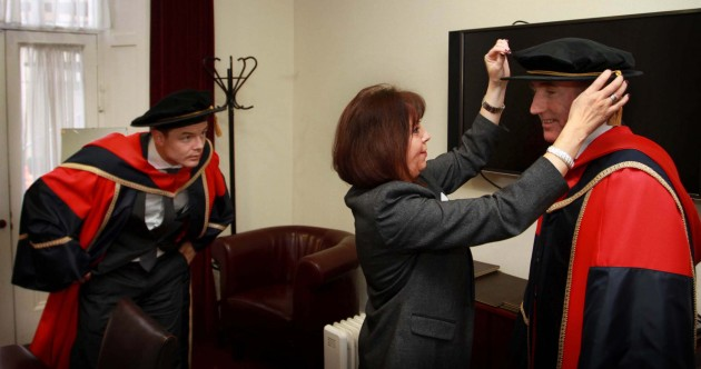Brian O'Driscoll, Sean Kelly and Katie Taylor awarded honorary degrees by DCU