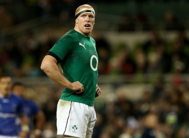 Paul O'Connell hopes today will be the day that Ireland turn a corner and start a winning run.