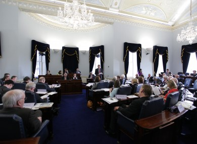 The Seanad chamber (File photo)