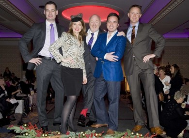 Politicians strike a pose on the catwalk all for a good cause.