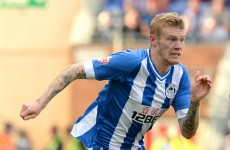 Wigan boss rejects claims McClean was dropped over refusal to wear poppy