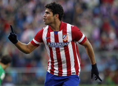 Costa has been in fine form for Atletico Madrid.