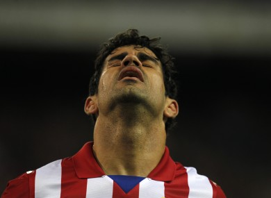 Costa will have to wait a little longer to line out for Spain.