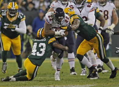 If the Bears and Packers both win this week they face a winner takes all encounter next week.
