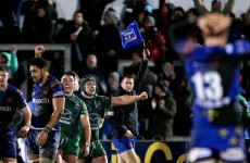 Muldoon hails effort of Connacht's young front row after Dragons drama