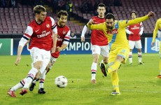 Arsenal far from their best in 2-0 defeat to Napoli