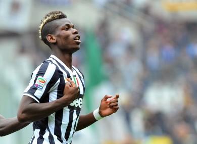 Pogba has been impressive for Juventus this season.