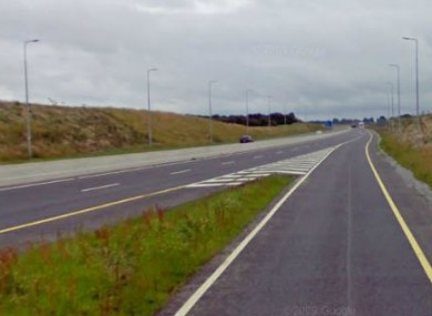 The M6 motorway, near Kilbeggan