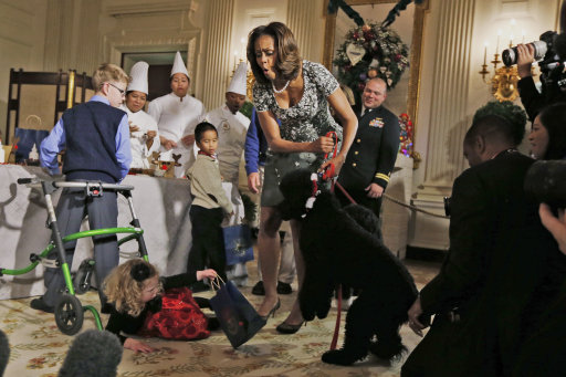 Michelle Obama White House Christmas